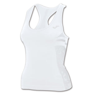 Joma Brama Emotion women's sports compression tank white