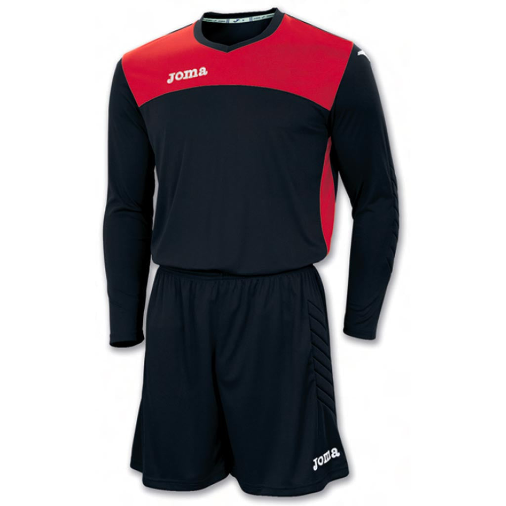 JOMA Area IV soccer goalkeeper kit noir rouge