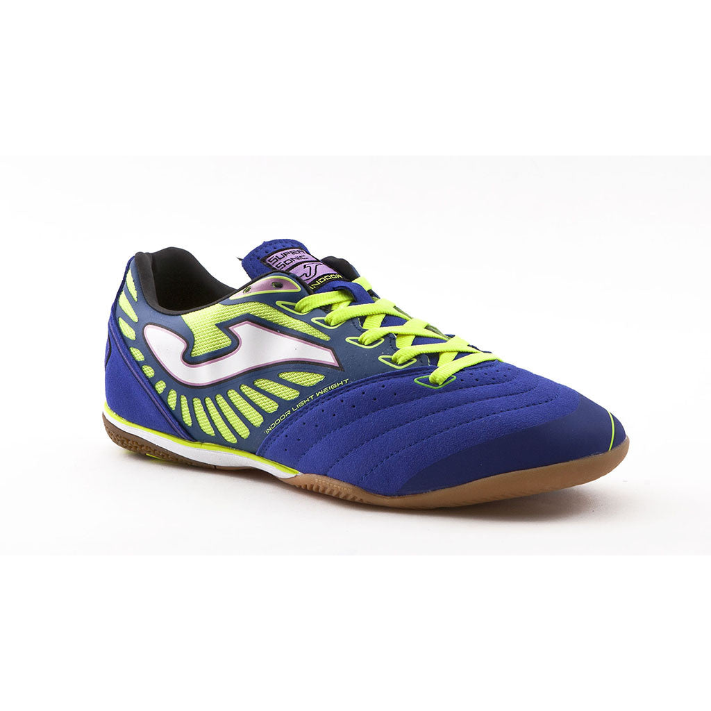 Joma Supersonic Futsal indoor soccer shoes blue lv2