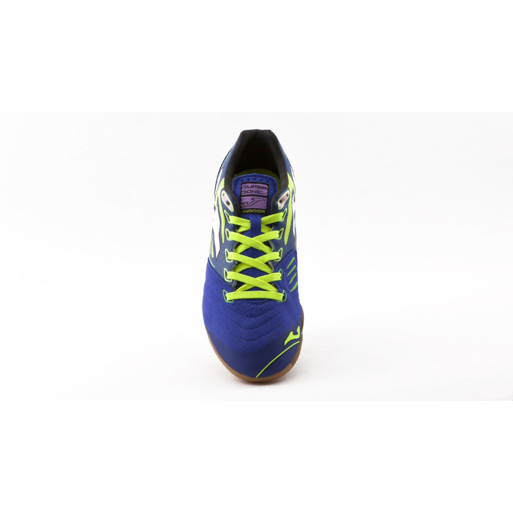 Joma Supersonic Futsal indoor soccer shoes blue uv1