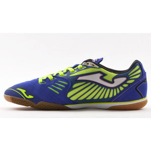 Joma Supersonic Futsal indoor soccer shoes blue lv
