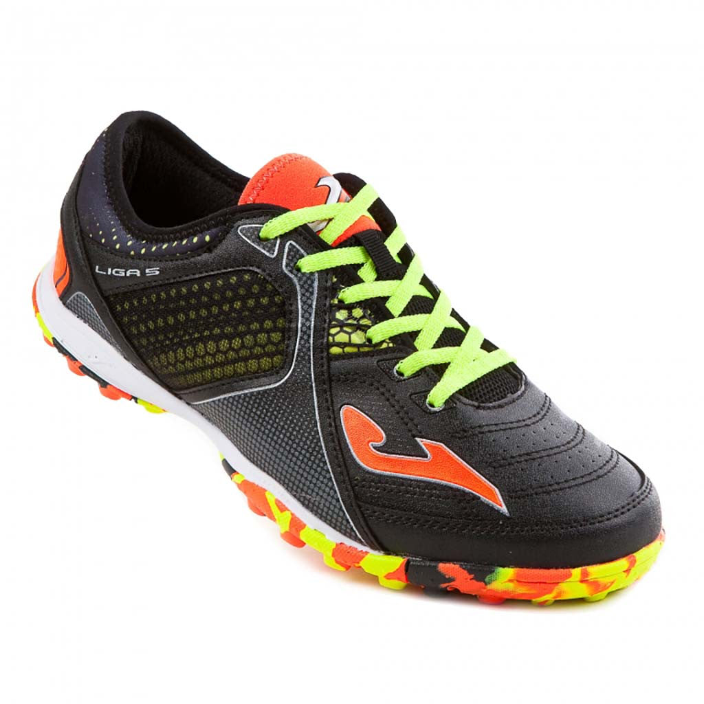 JOMA Liga 5 701 Turf black soccer shoes sv
