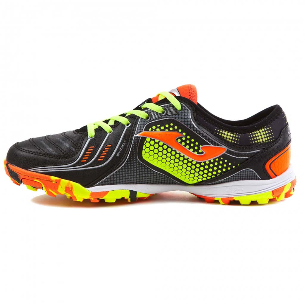 JOMA Liga 5 701 Turf black soccer shoes lv