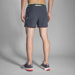 "Brooks Sherpa 5"" short de course a pied homme asphalte nightlife rv1"