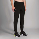 Pantalon de course à pied Brooks Threshold pour homme noir live Soccer Sport Fitness