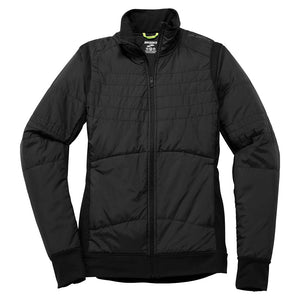 Jacket de course à pied Brooks Cascadia Thermal pour femme noir Soccer Sport Fitness