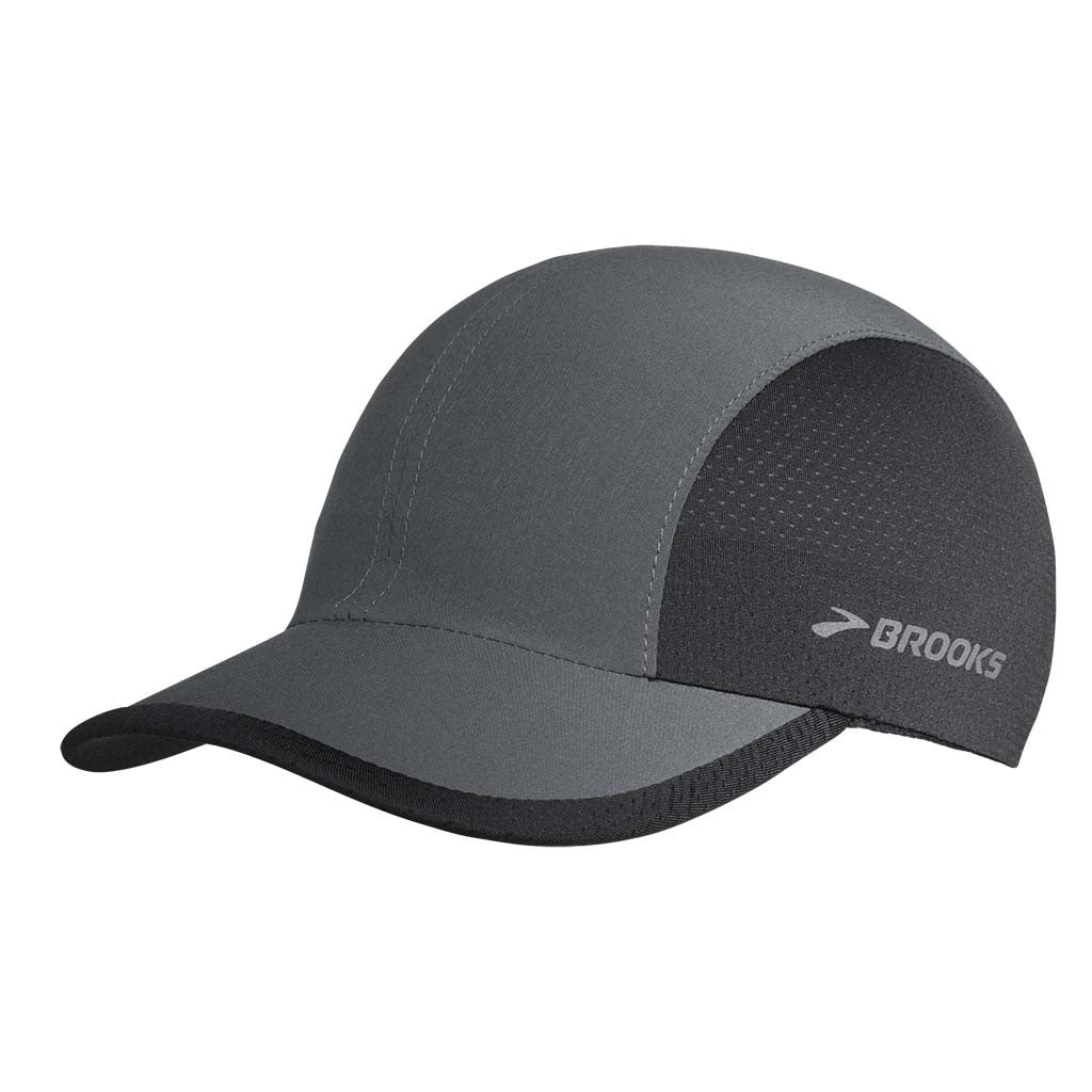 Brooks Run-Thru running hat noir Soccer Sport Fitness