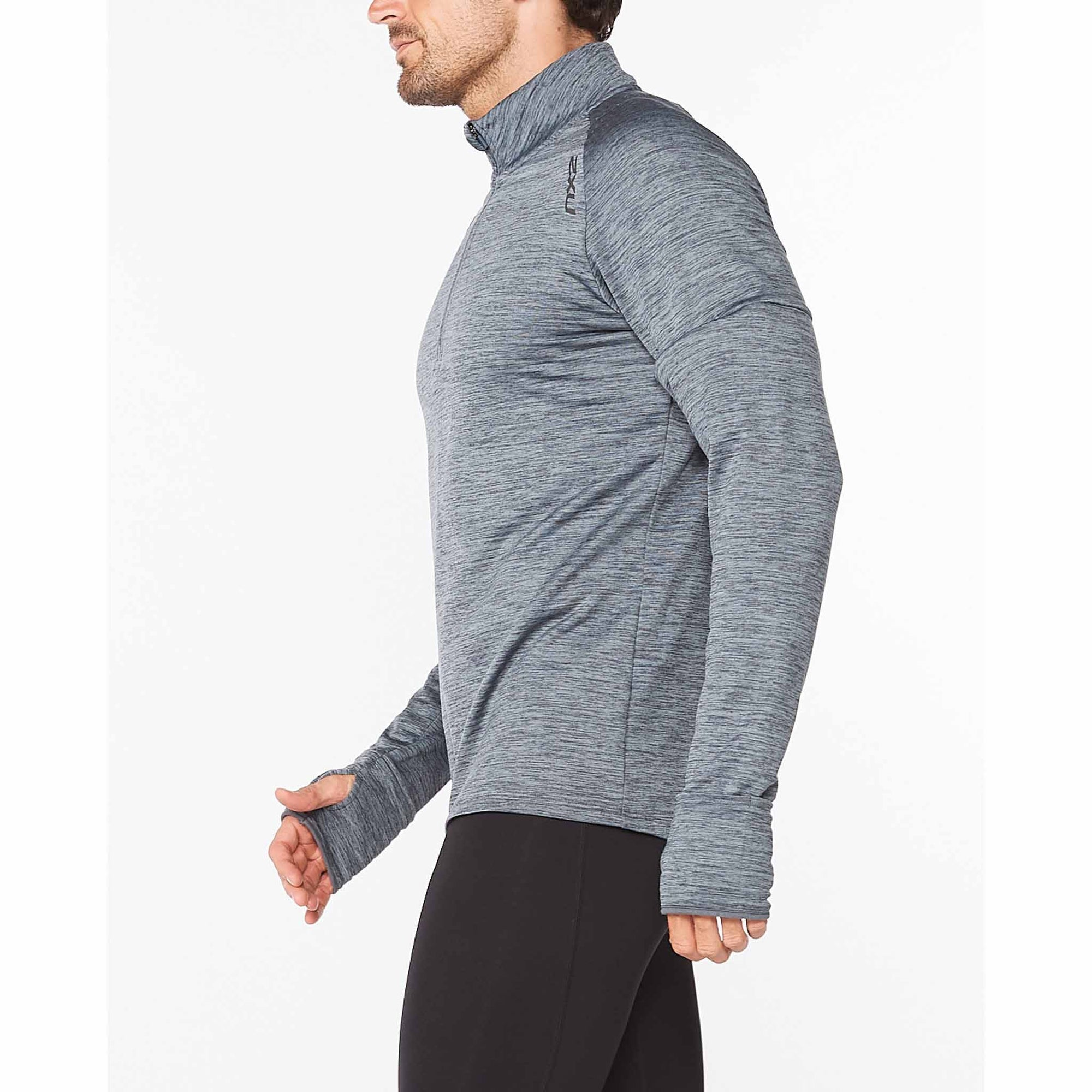 2XU Chandail manches longues Ignition 1/4 Zip pour homme