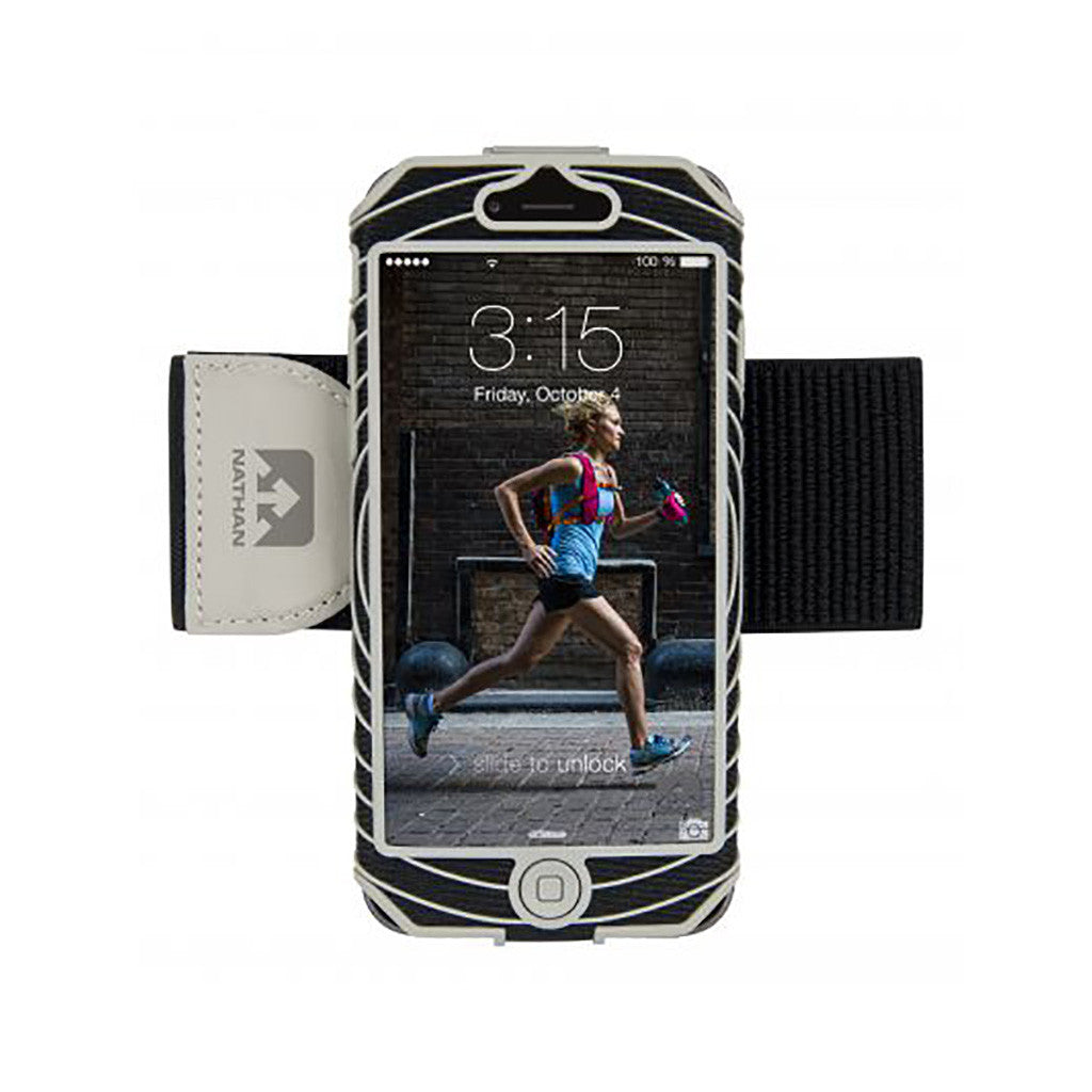 Brassard sport Nathan pour iPhone 6 Sonic Boom sports armband noir Soccer Sport Fitness