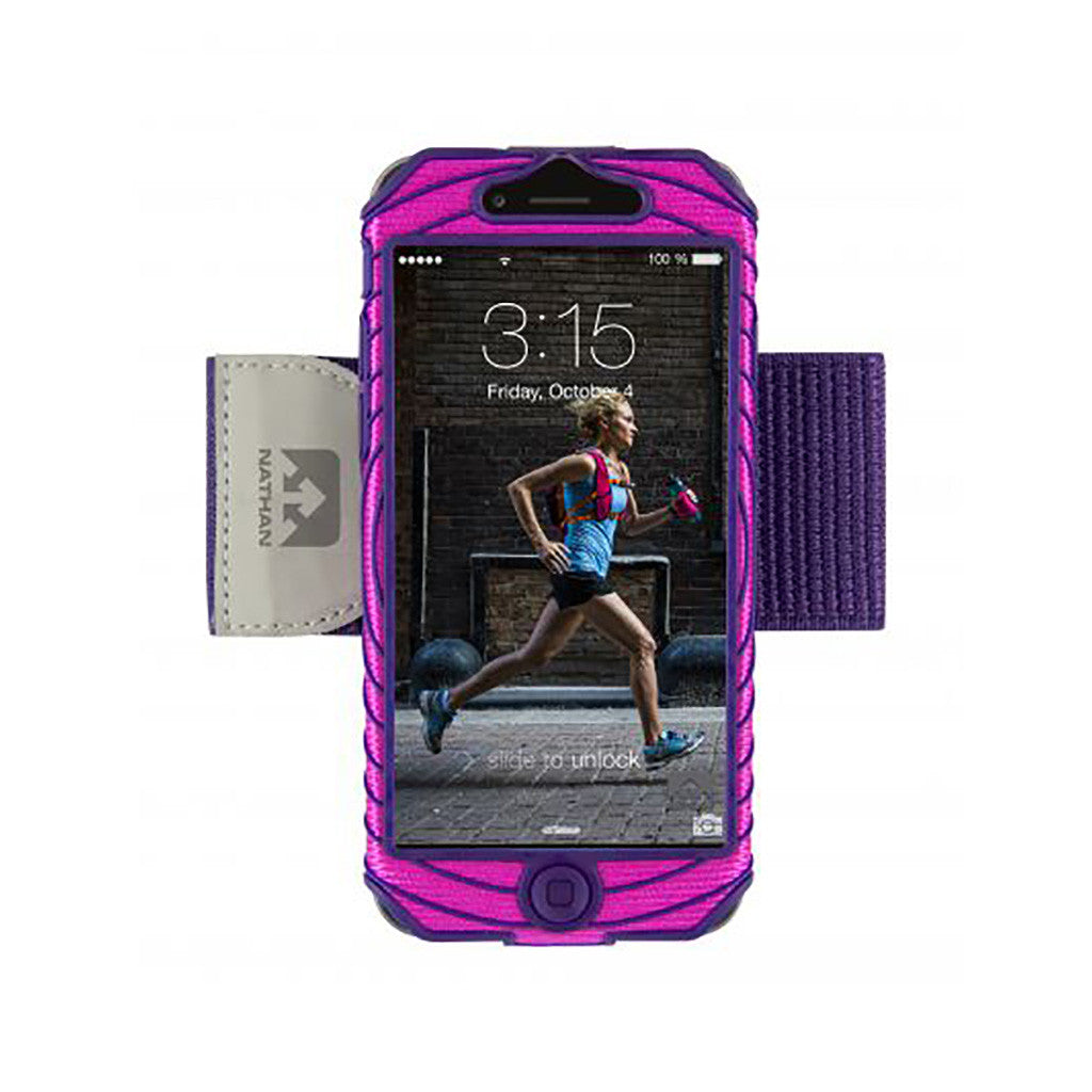 Brassard sport Nathan pour iPhone 6 Sonic Boom sports armband  rose Soccer Sport Fitness
