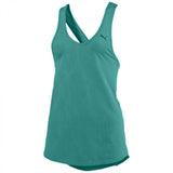 Camisole sport femme PUMA Mesh It Up women's sports tank top aqua vue face 2 Soccer Sport Fitness