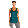 Camisole sport femme PUMA Mesh It Up women's sports tank top aqua vue face Soccer Sport Fitness