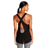 Camisole sport femme PUMA Mesh It Up women's sports tank top noir vue dos Soccer Sport Fitness