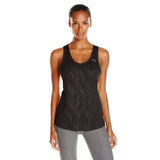 Camisole sport femme PUMA Mesh It Up women's sports tank top noir vue face Soccer Sport Fitness
