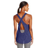 Camisole sport femme PUMA Mesh It Up women's sports tank top mauve vue dos Soccer Sport Fitness