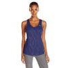 Camisole sport femme PUMA Mesh It Up women's sports tank top mauve vue face Soccer Sport Fitness