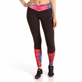Puma Running women's leggings red black