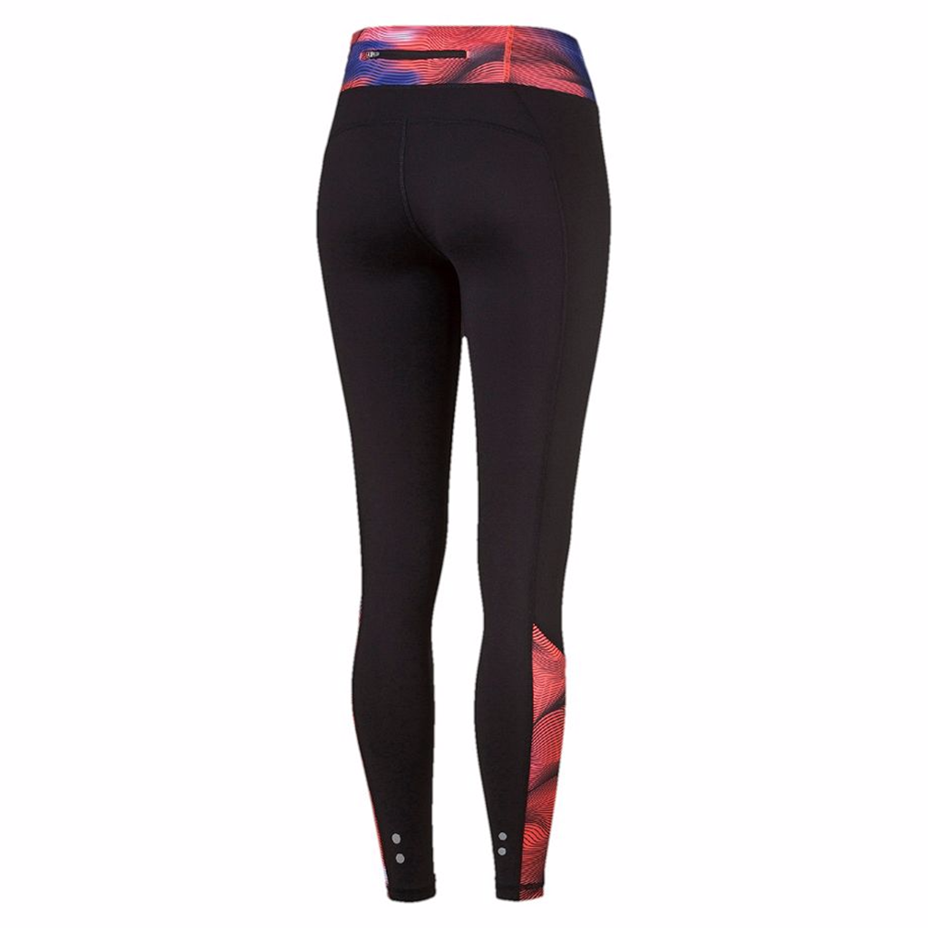 Puma Running women's leggings red black rv