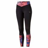 Puma Running women's leggings red black fv