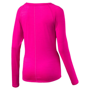 Chandail sport femme PUMA Rebel Run women's long sleeve sports shirt Soccer Sport Fitness