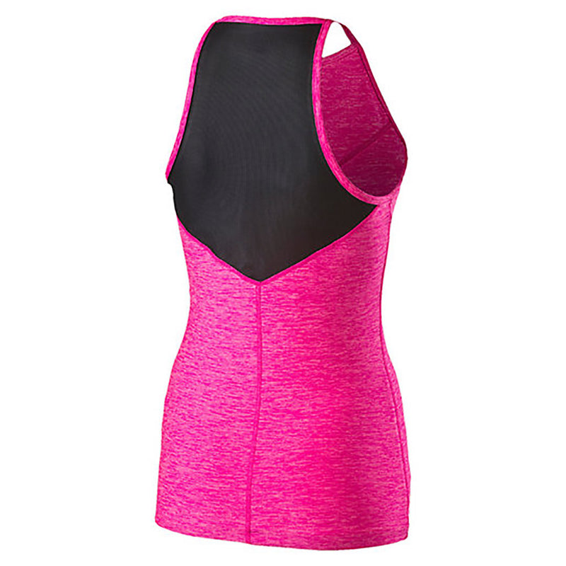 Camisole sport femme PUMA Yogini Long and Lean women's sport tank top rose vue dos 2 Soccer Sport Fitness