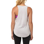 Camisole sport femme PUMA Dancer Burnout women's sports tank top blanc vue dos Soccer Sport Fitness