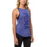 Camisole sport femme PUMA Dancer Burnout women's sports tank top mauve vue avant Soccer Sport Fitness