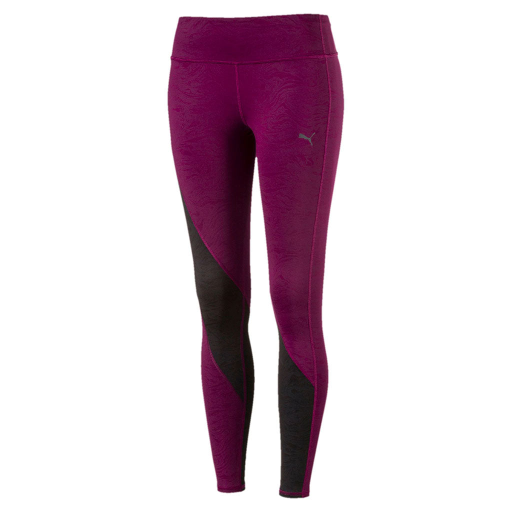 Puma Active Training Clash women's tights purple vue face Soccer Sport Fitness