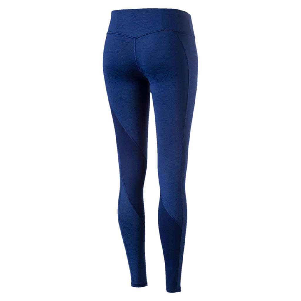 Puma Active Training Clash women's tights blue vue arriere Soccer Sport Fitness