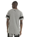 T-shirt homme Puma Active Training Energy à manches raglan gris chiné mode 1 Soccer Sport Fitness
