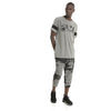 T-shirt homme Puma Active Training Energy à manches raglan gris chiné mode 2 Soccer Sport Fitness