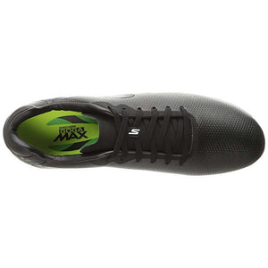 Skechers Galaxy Performance FG soccer shoes black top view