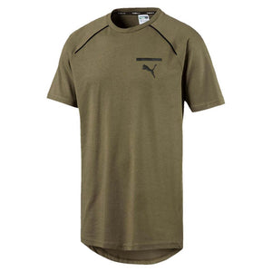 T-shirt homme Puma Evo Core olive night Soccer Sport Fitness