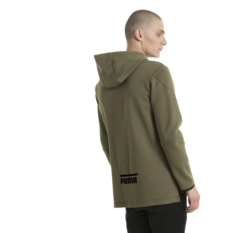 Chandail avec capuchon homme PUMA Evo Core type hoodie olive night mode 2 Soccer Sport Fitness