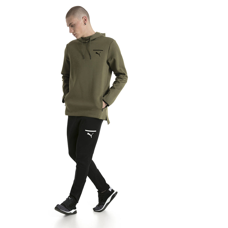 Chandail avec capuchon homme PUMA Evo Core type hoodie olive night mode 3 Soccer Sport Fitness