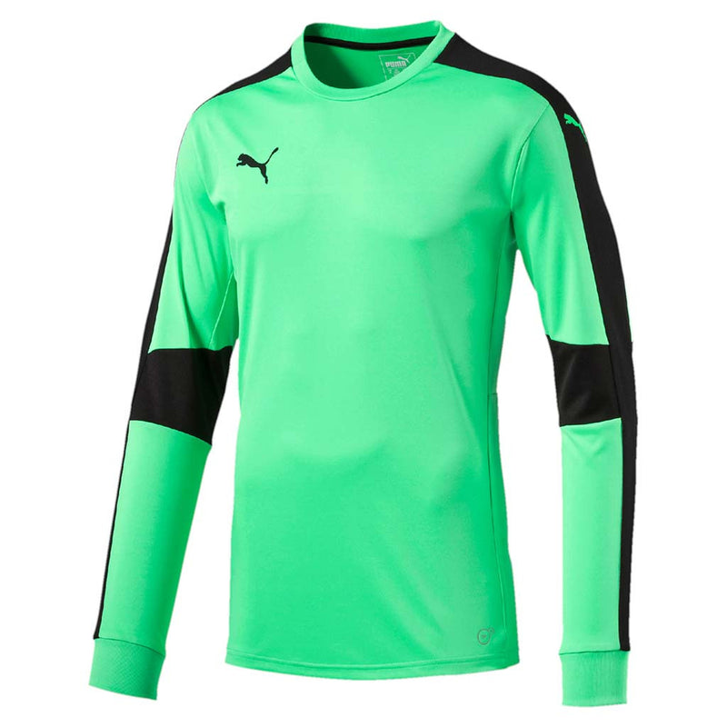 Puma Triumphant junior soccer goalkeeper jersey orange