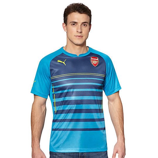 Maillot pro PUMA Arsenal FC Prematch 2014-15 rv