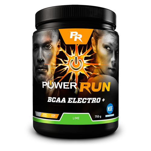 Suppléments alimentaires Power Run BCAA Electro Plus sports supplements Soccer Sport FItness