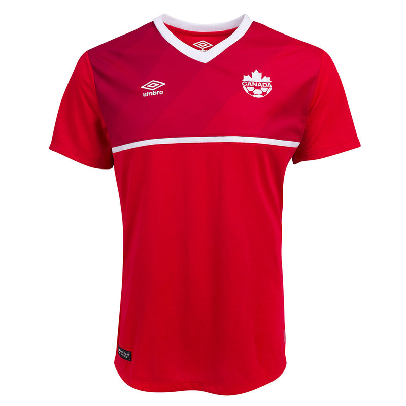 Maillot soccer Pro Umbro Équipe féminine Canadienne 2015 soccer jersey Soccer Sport Fitness