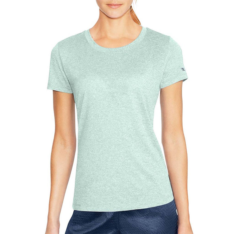 Champion PowerTrain T-Shirt sport pour femme blue spearmint chiné lv