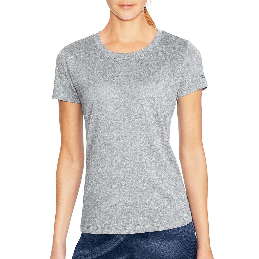 Champion PowerTrain T-Shirt sport pour femme oxford grey heather