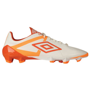Umbro Velocita Pro HG soccer cleats blanc orange jaune