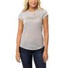 T-shirt femme PUMA Active Essential No.1 gris mode 1 Soccer Sport Fitness