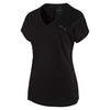 T-shirt femme PUMA Sporty Elevated noir Soccer Sport Fitness