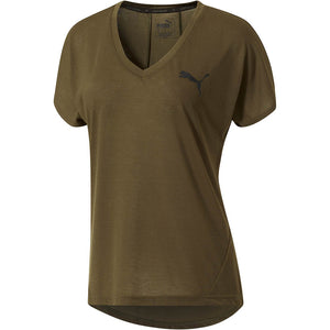 T-shirt femme PUMA Sporty Elevated olive night Soccer Sport Fitness