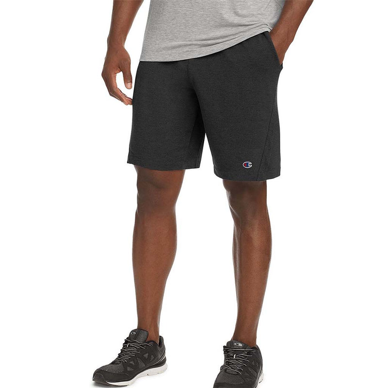 Champion Gym Issue short sport pour homme noir chiné