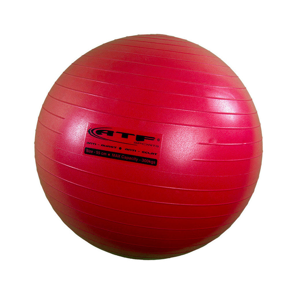 Ballon d'exercice et stabilité PRO ATF exercise and stability ball 55 cm Soccer Sport Fitness