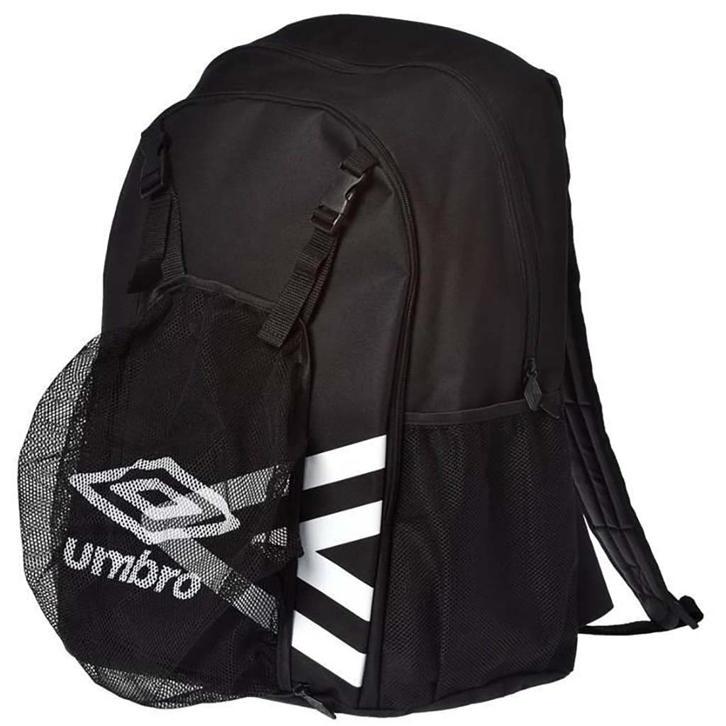 Umbro backpack 17 sac à dos de soccer noir lat