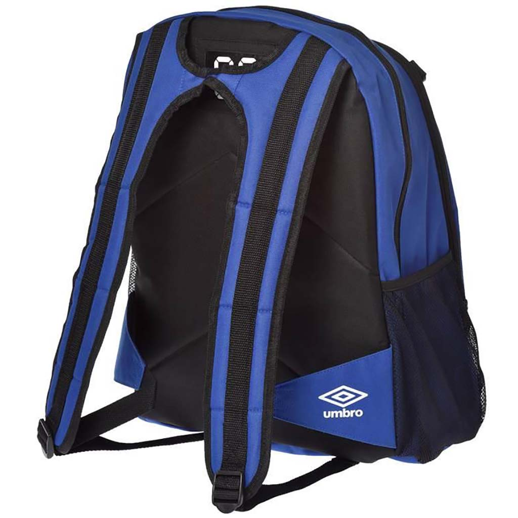 Umbro backpack 17 sac à dos de soccer bleu dos