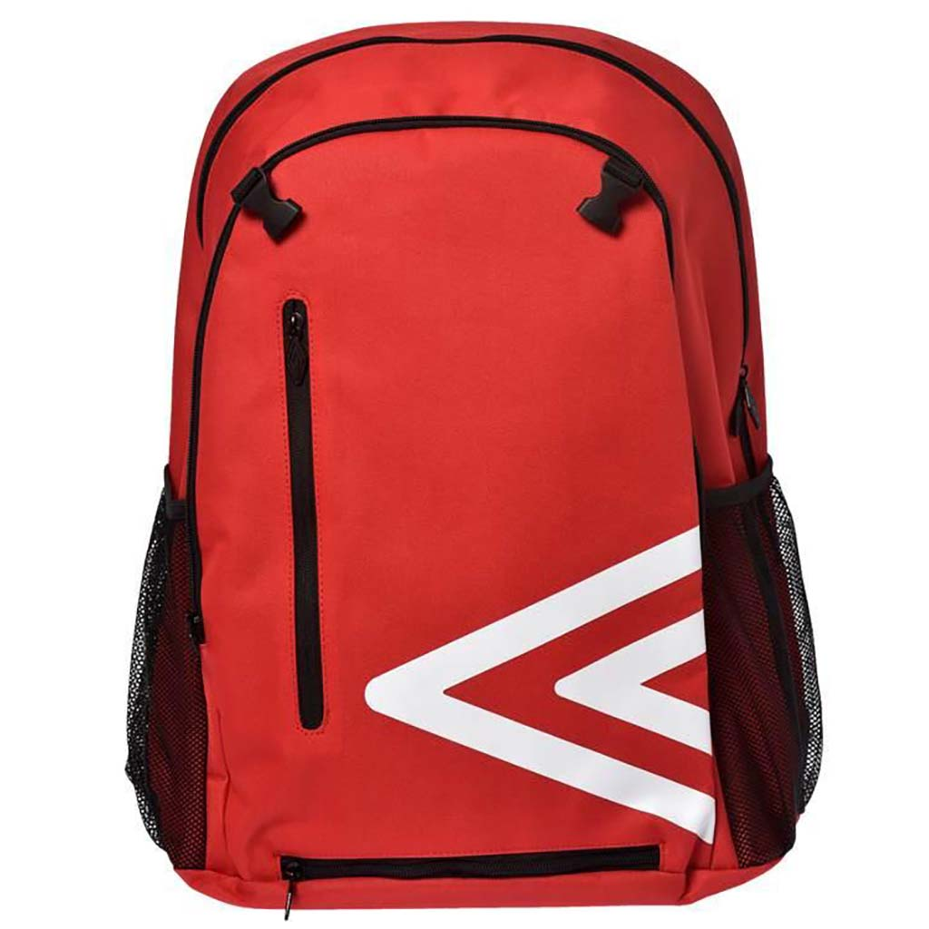 Umbro backpack 17 sac à dos de soccer rouge avant
